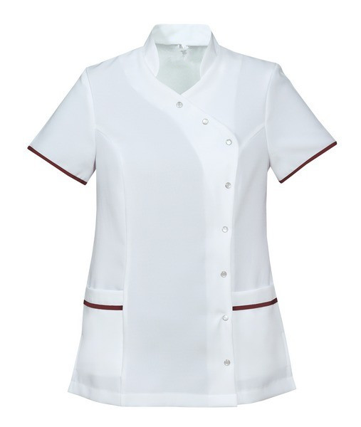 Mandarin Collar trim healthcare tunic